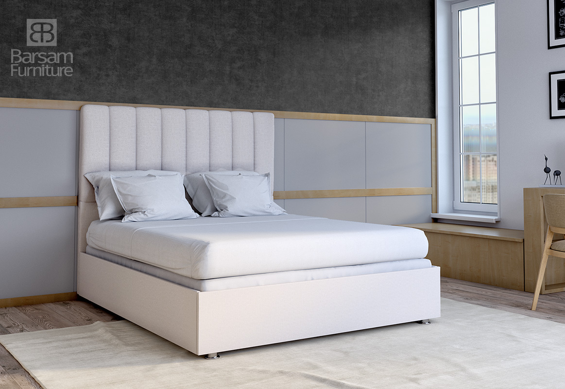LAURA OFF WHITE BED