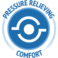 Pressure relieving comfort icon