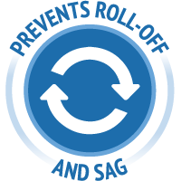 Prevents Roll-Off and Sag icon