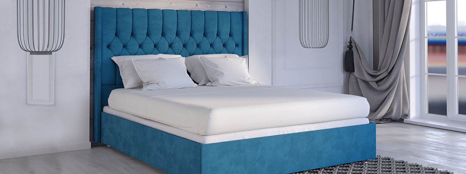 Bedroom set and mattress from Canada Sleep Paradise