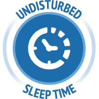 Undisturbed Sleep time icon
