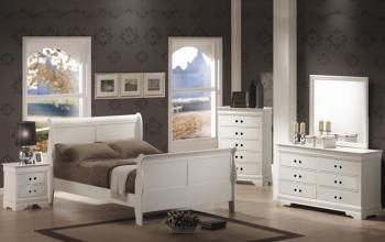 6PCS LOUIS PHILLIP BEDROOM SET