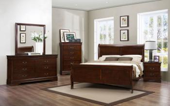 COMPLETE 8PCS LOUIS PHILLIP BEDROOM SET