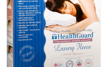 LUXURY FLEECE MATTRESS PROTECTOR