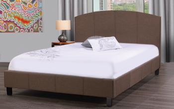 Platform Bed - Brown