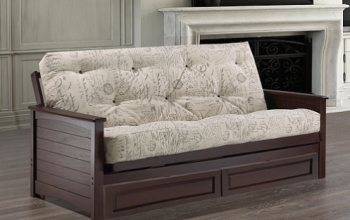 IF 232 SOLID WOOD FUTON
