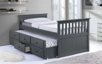 IF 314 Twin/Twin Captain Bed with Trundle