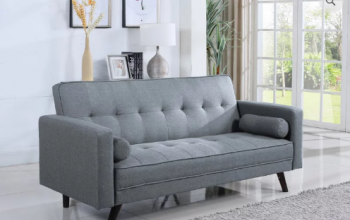 IF 8054 Grey Klick Klack Sofa Bed