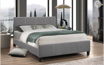 IF 137 Grey Platform Bed