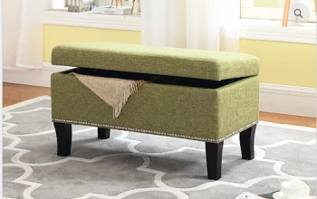 IF 6245 Green Storage Bench