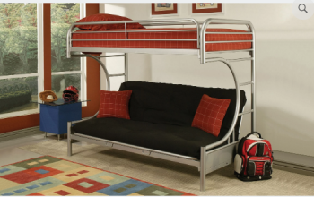 IF 230 Grey Futon Bunk Bed