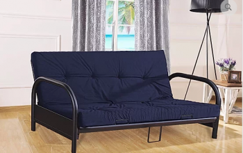 IF 208 Black Metal Futon