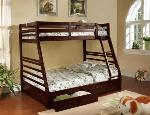 2700 SINGLE/DOUBLE BUNK BED WITH DRAWERS